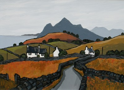 British Artist David BARNES - North Coast of Lleyn