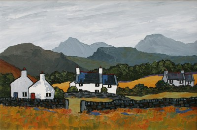 British Artist David BARNES - Welsh Hamlet