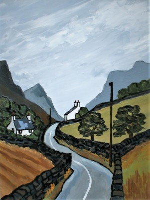 David BARNES - Road Through the Pass