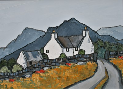 British Artist David BARNES - In The Moelwyns