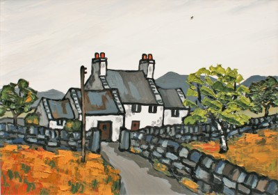 British Artist David BARNES - Near Nebo