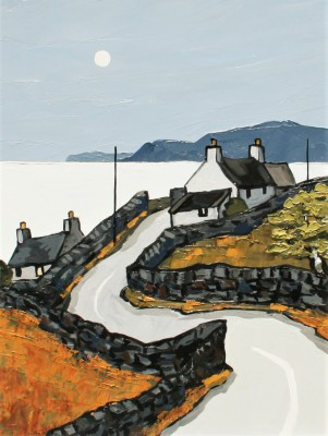 British Artist David BARNES - The Cardigan Coast
