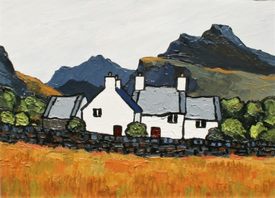 David BARNES - Farm Near Nantlle