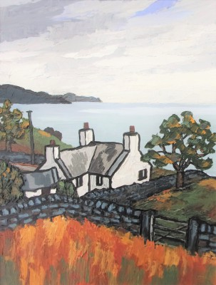 British Artist David BARNES - On the Lleyn