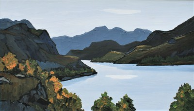 British Artist David BARNES - Deep in Assynt