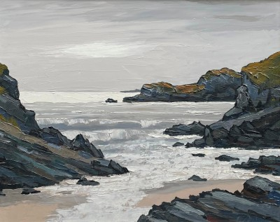 British Artist David BARNES - On the west coast of Anglesey