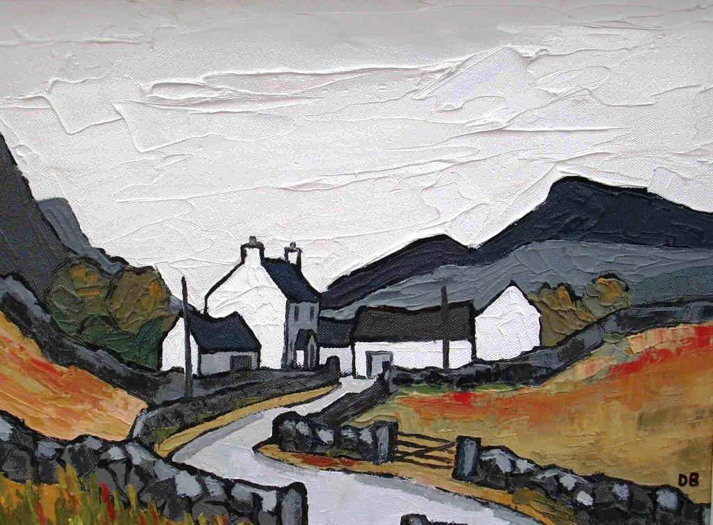 David BARNES - Hill Farm in the Carneddau