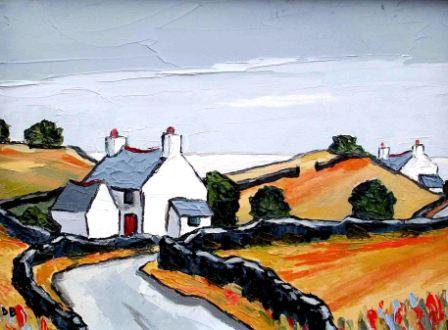 David BARNES - Cottages near the Sea