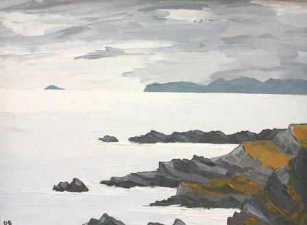David BARNES - Towards Bardsey