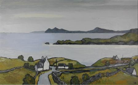 David BARNES - Looking East in the Lleyn