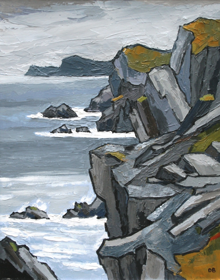 David BARNES - Towards South Stack