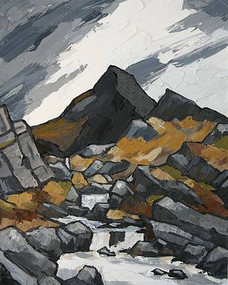 David BARNES - Storm Clouds over Cnicht