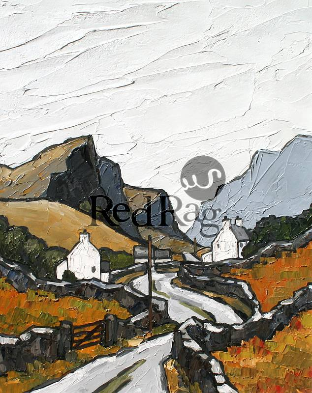 David BARNES - The Old Road to Ogwen