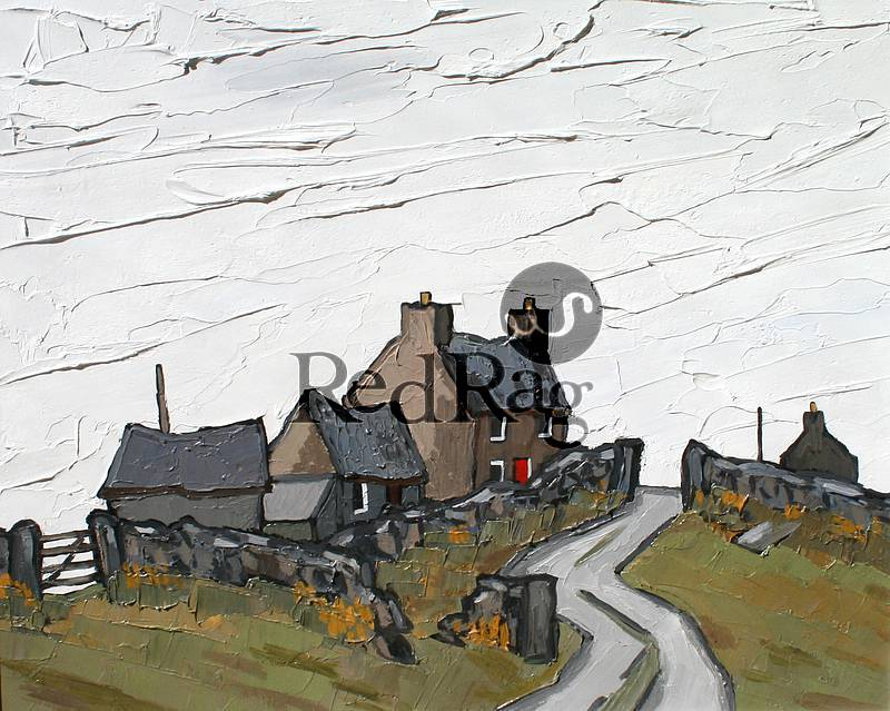 David BARNES - Farm on Denbigh Moors