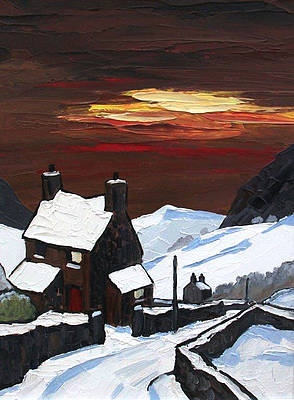 David BARNES - Sunset in Winter