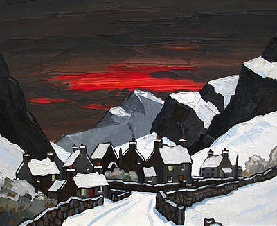 David BARNES - Winter in Gerlan