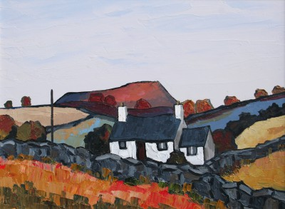British Artist David BARNES - Autumn in the Lleyn
