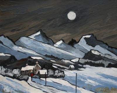 David BARNES - Moon over the Carneddau
