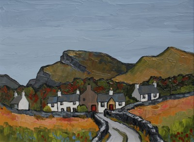 David BARNES - Cottages near Blaenau