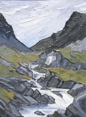 David BARNES - Mountain Cascade
