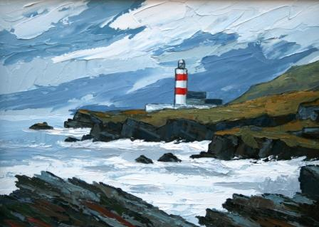 David BARNES - Lighthouse on Bardsey