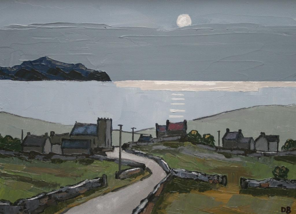 David BARNES - Looking towards Holyhead (Anglesey)