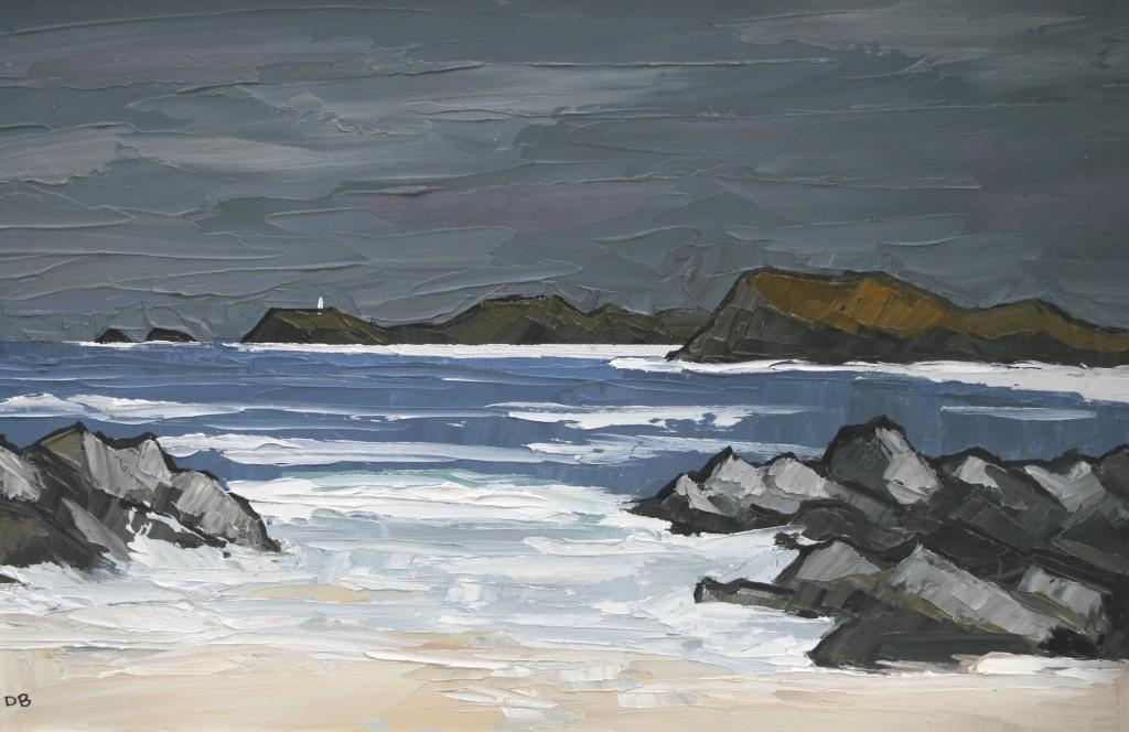 David BARNES - Lighthouse on Llanddwyn Island