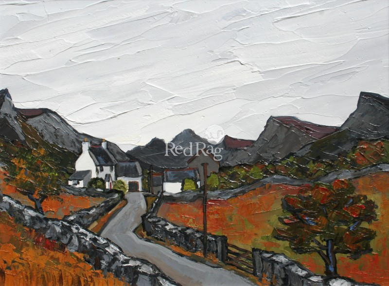 David BARNES - Farm in the Carneddau
