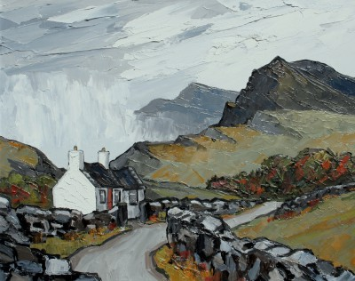 David BARNES - Rain in the Lledr Valley