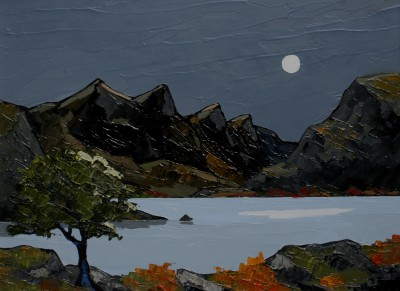 David BARNES - Moonlight Over Ogwen