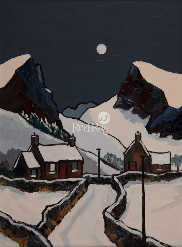 David BARNES - Winter Moon