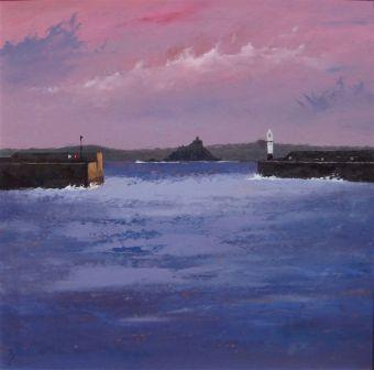 David BEER - Through Newlyn Gap to the Mount