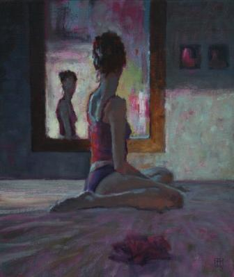 British Artist David COBLEY - In the Mirror I