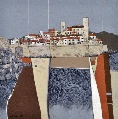 British Artist David DAY - Antibes