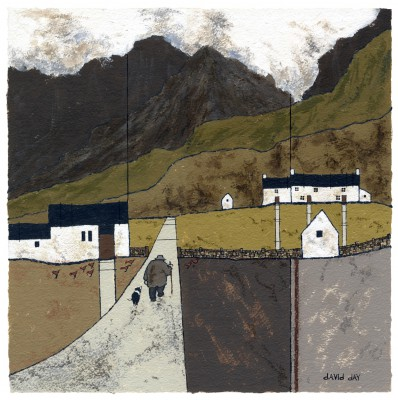 British Artist David DAY - Llanberis II
