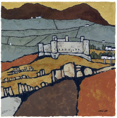 British Artist David DAY - Harlech