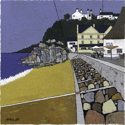 Torcross I painting by artist David DAY