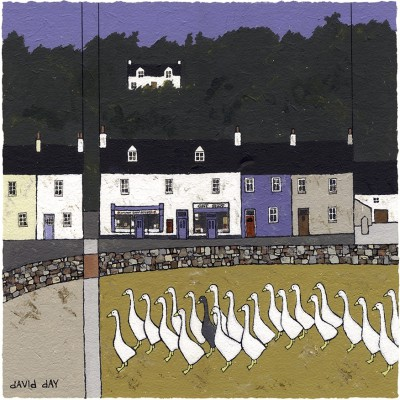 British Artist David DAY - Torcross II