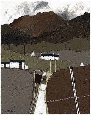 Limited Edition Prints Artist David Day - Black Mountains I