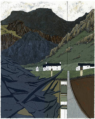 Limited Edition Prints Artist David Day - Blaenau Festiniog