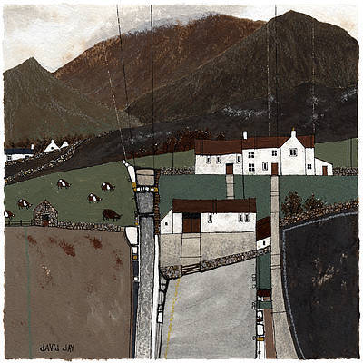 Limited Edition Prints Artist David Day - Brecon Farmhouse