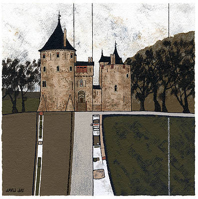Limited Edition Prints Artist David Day - Castle Coch