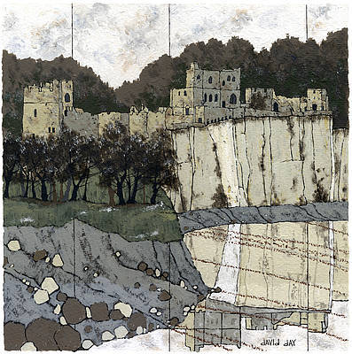 Limited Edition Prints Artist David Day - Chepstow Castle