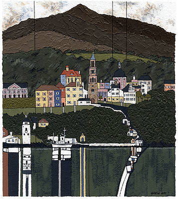 Limited Edition Prints Artist David Day - Portmeirion