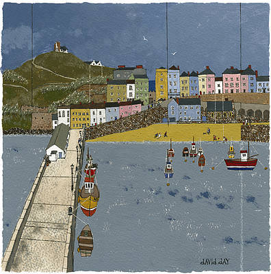 Limited Edition Prints Artist David Day - Tenby Harbour