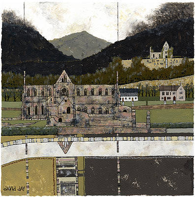 Limited Edition Prints Artist David Day - Tintern Abbey