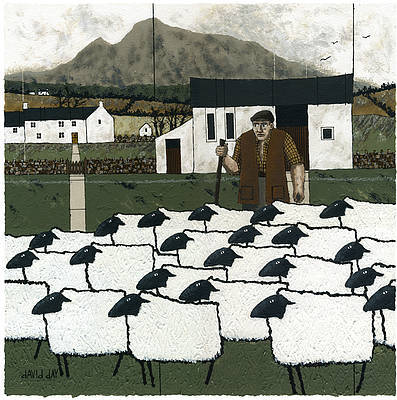 Limited Edition Prints Artist David Day - The Skirrid, Abergavenny
