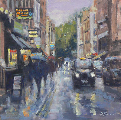 David FARREN - Outside Ronnie Scotts, Soho