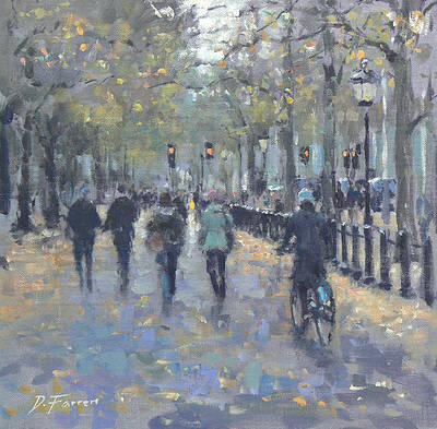 David FARREN - October Trees, The Mall