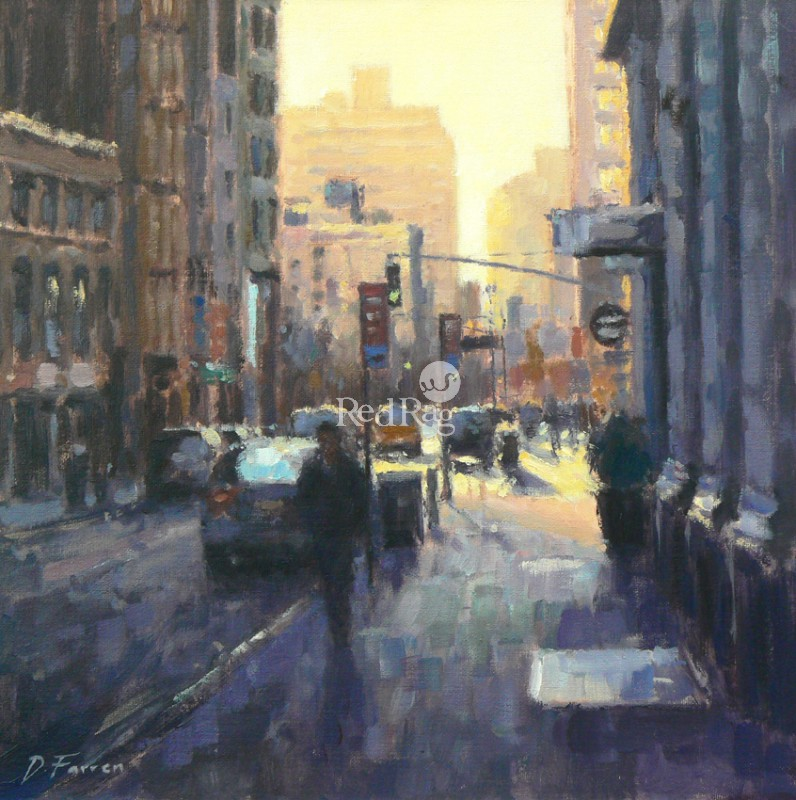 David FARREN - Morning Sun, Downtown Manhattan